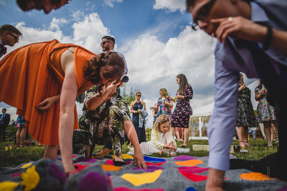 wedding twister crochet Kings Acre Wedding Photography