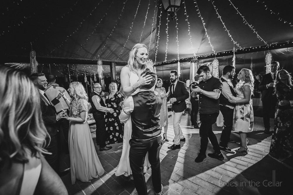dance floor moments Italian destination wedding