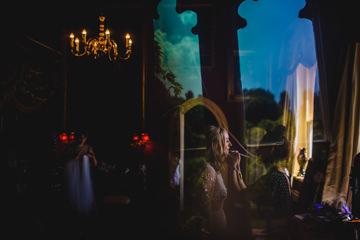 Pixies in the cellar wedding preparation photo