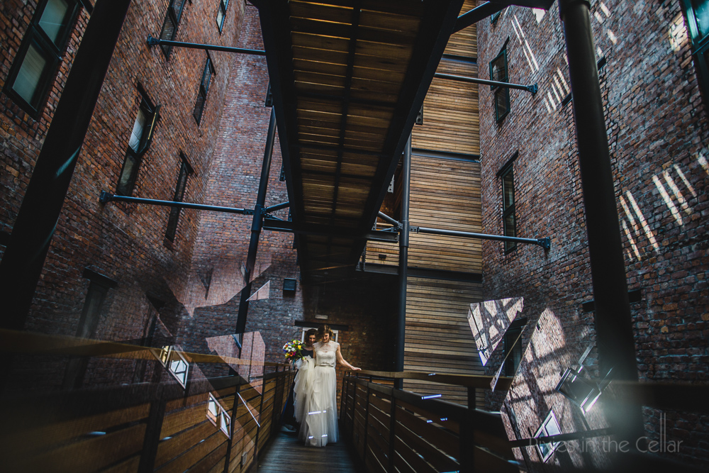 Industrial mill and bride manchester