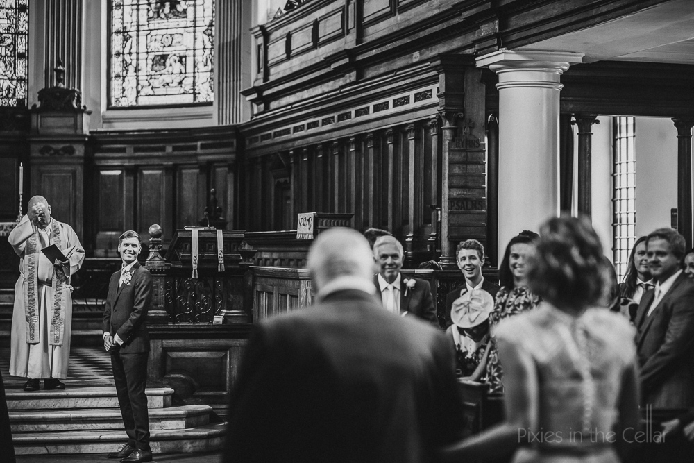 St Anns church Manchester wedding photography