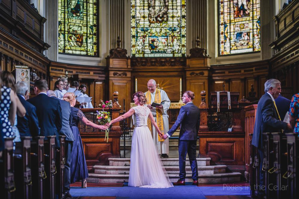 English church wedding city centre