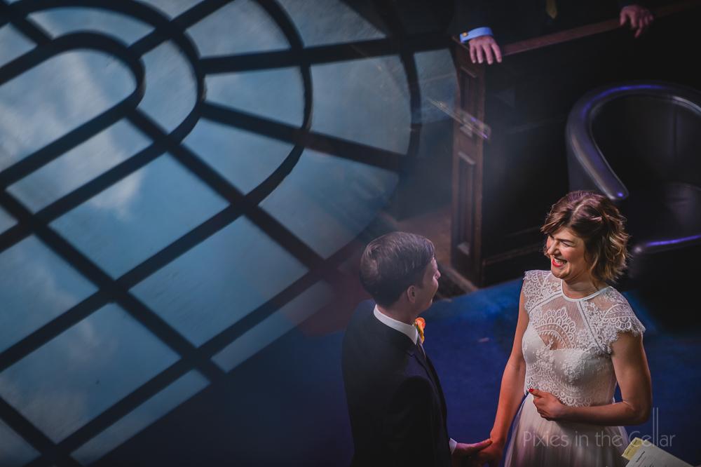 creative documentary wedding photography blue