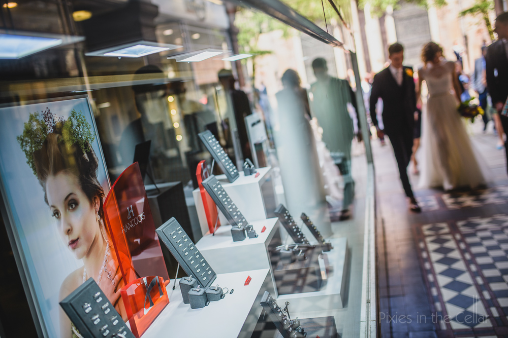 barton arcade manchester documentary wedding photography