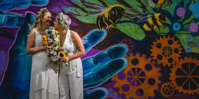 Boho Brides - A Manchester Wedding