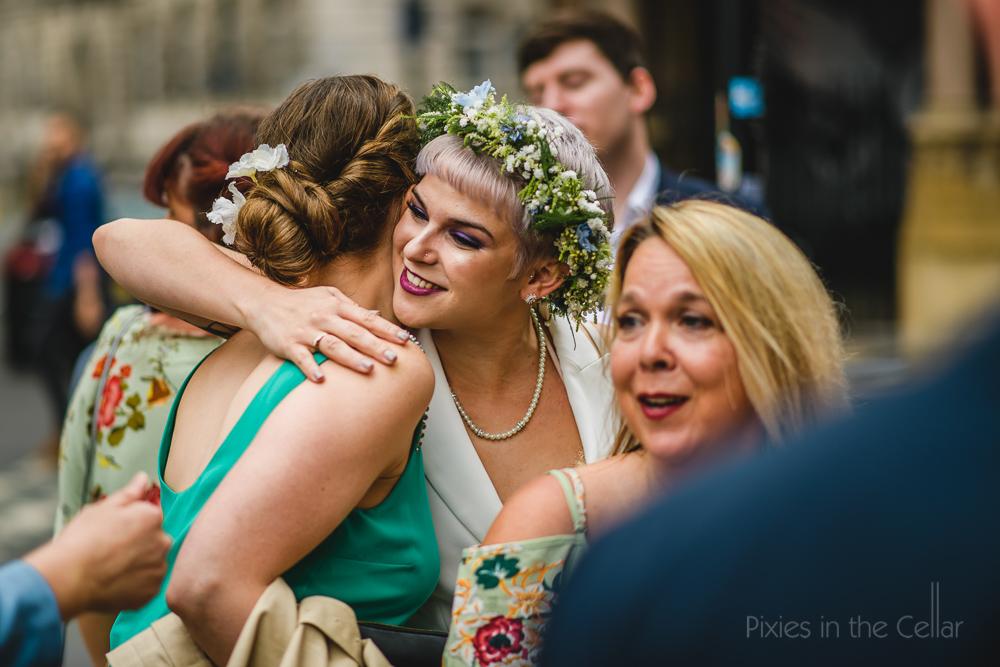 flower crown bride manchester
