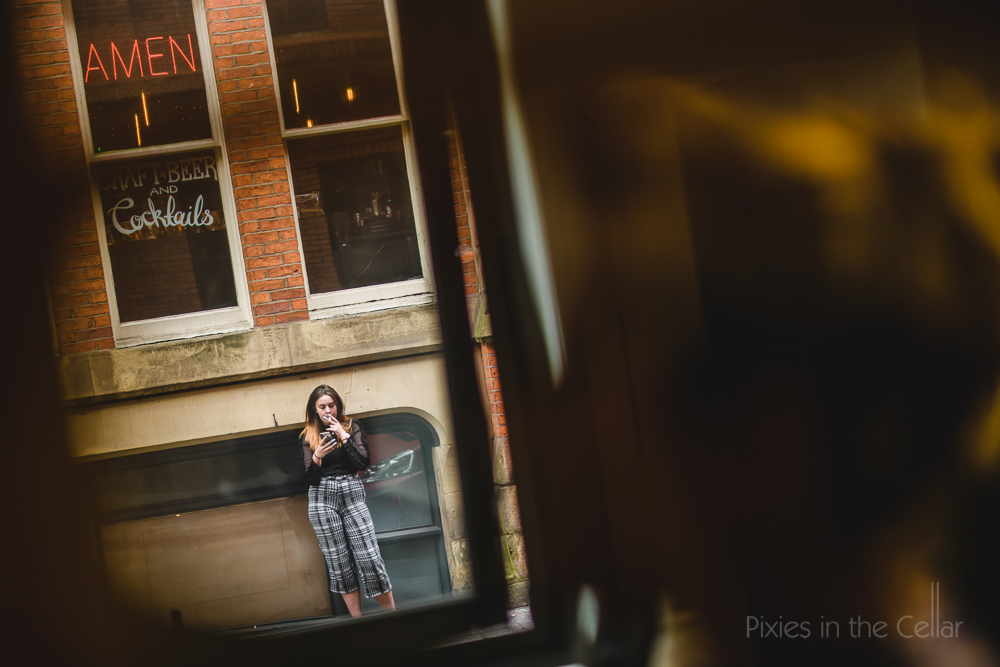 Manchester street photography wedding