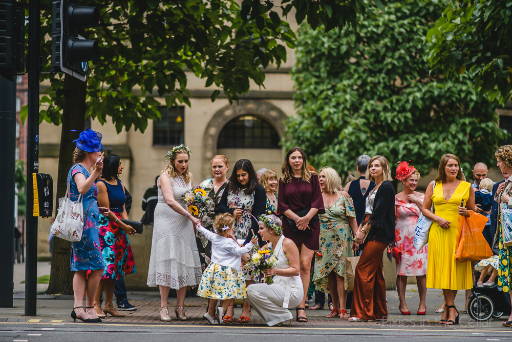 city walk wedding manchester