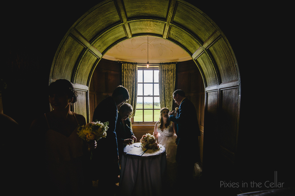 Rowallan Castle wedding photographer Scotland