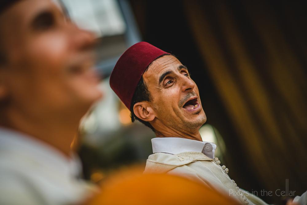 Marrakesh wedding band