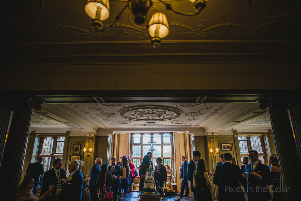 Thornton Manor wedding reception photography