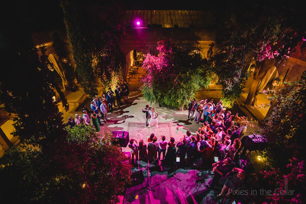 Beldi Country Club wedding dancing Marrakesh