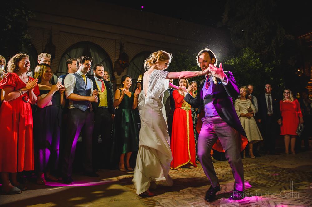 Outdoor first dance destination wedding