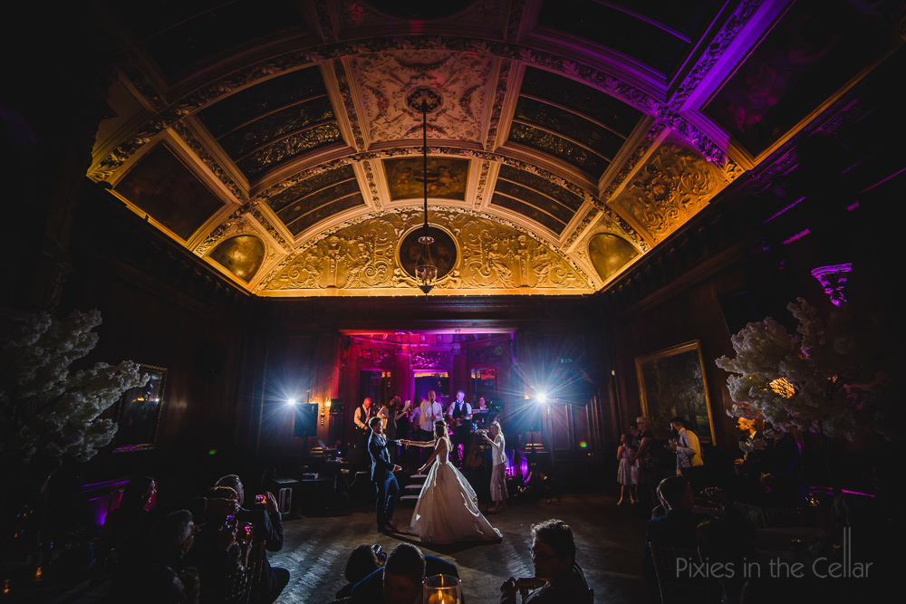 Thornton Manor wedding photography first dance