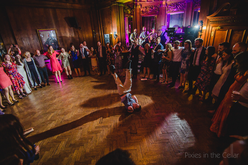 wedding breakdance