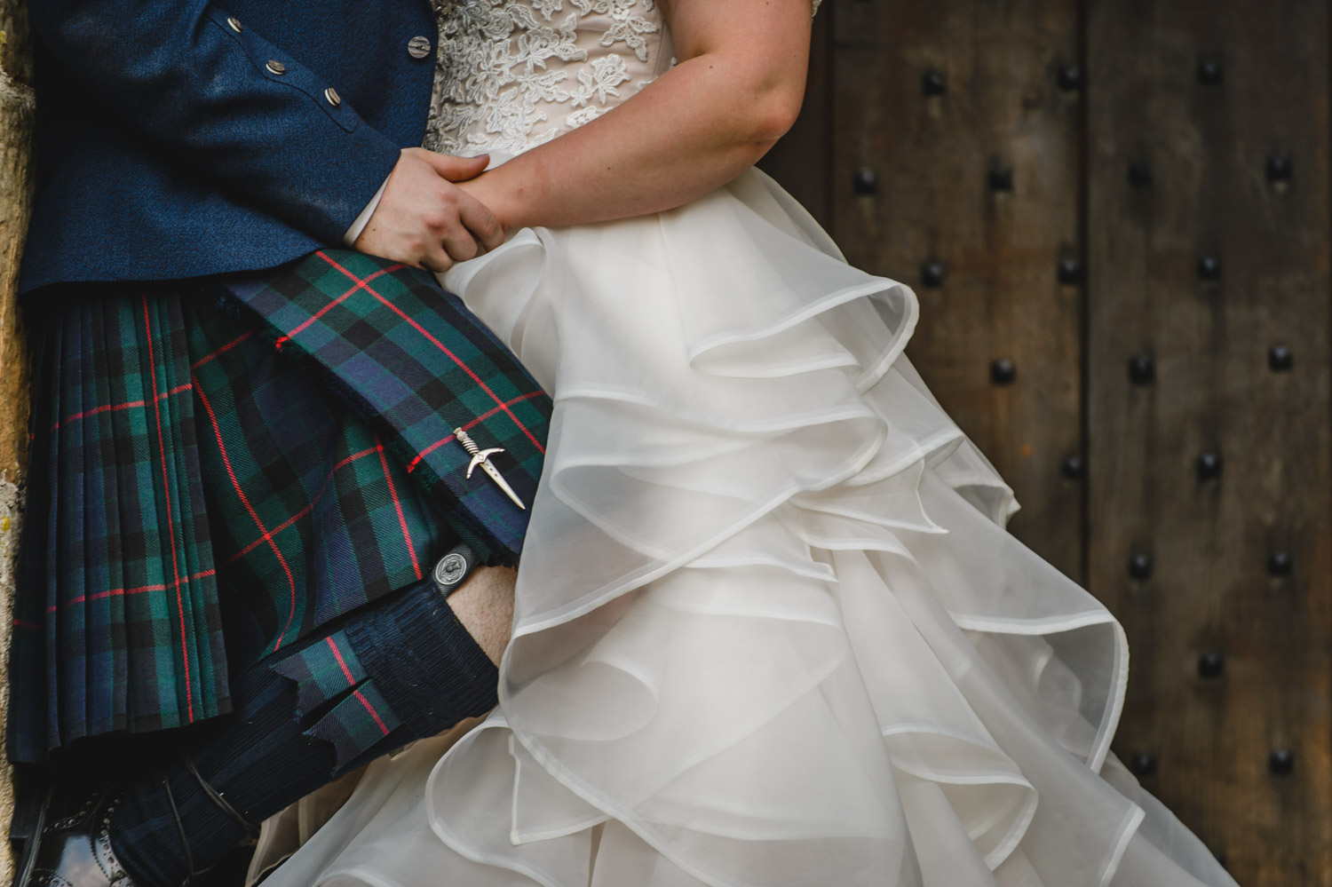 scottish wedding details kilt