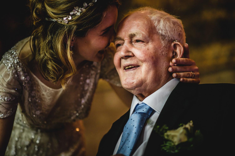 bride grandad