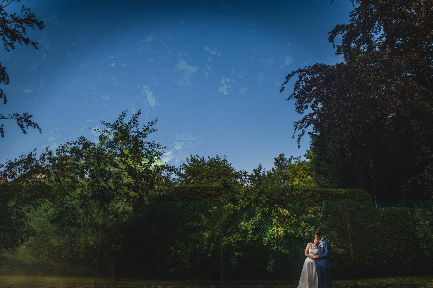 summer wedding garden party