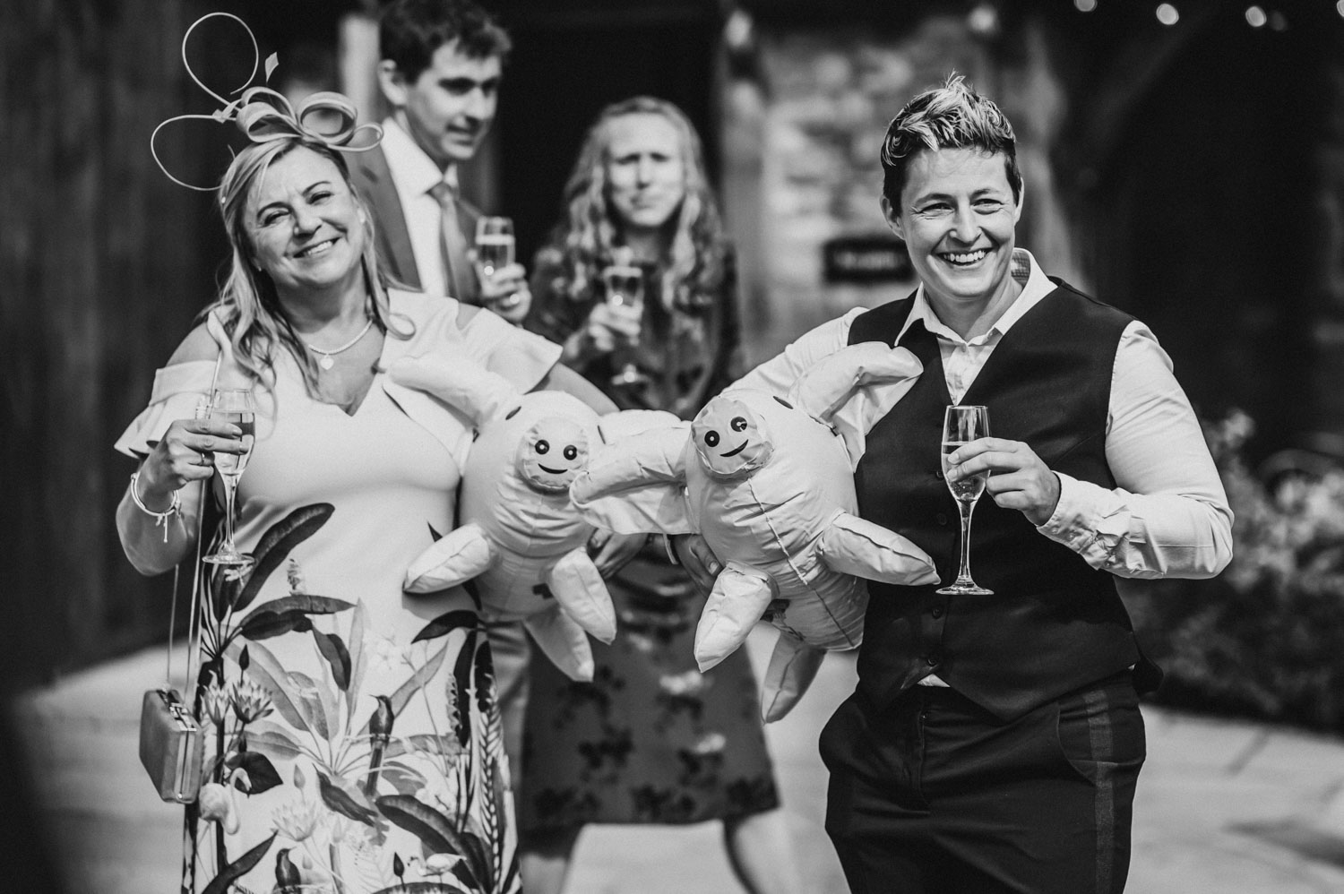 blow up wedding pigs