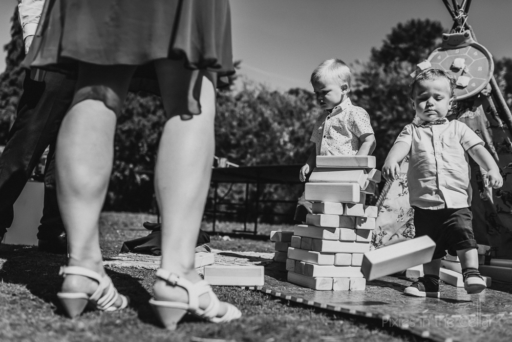 wedding jenga garden games kids