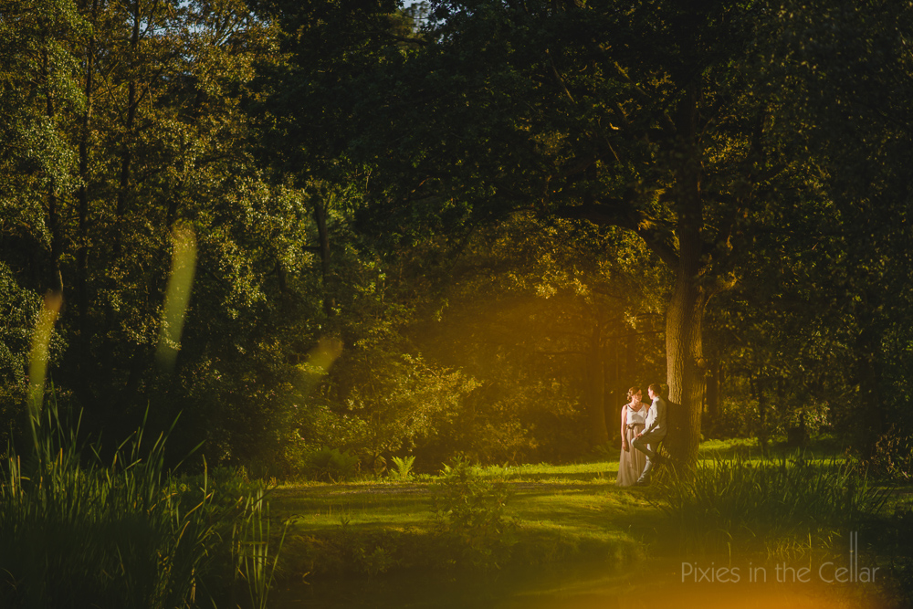 Outdoor wedding Manchester
