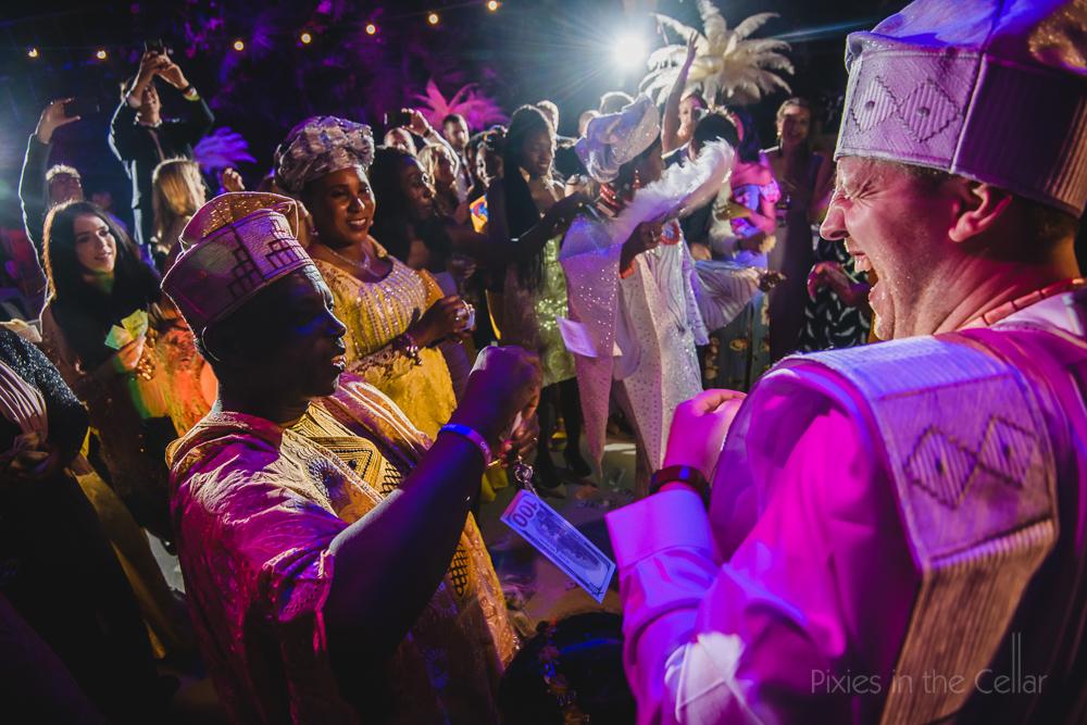 wedding money dance naija costume