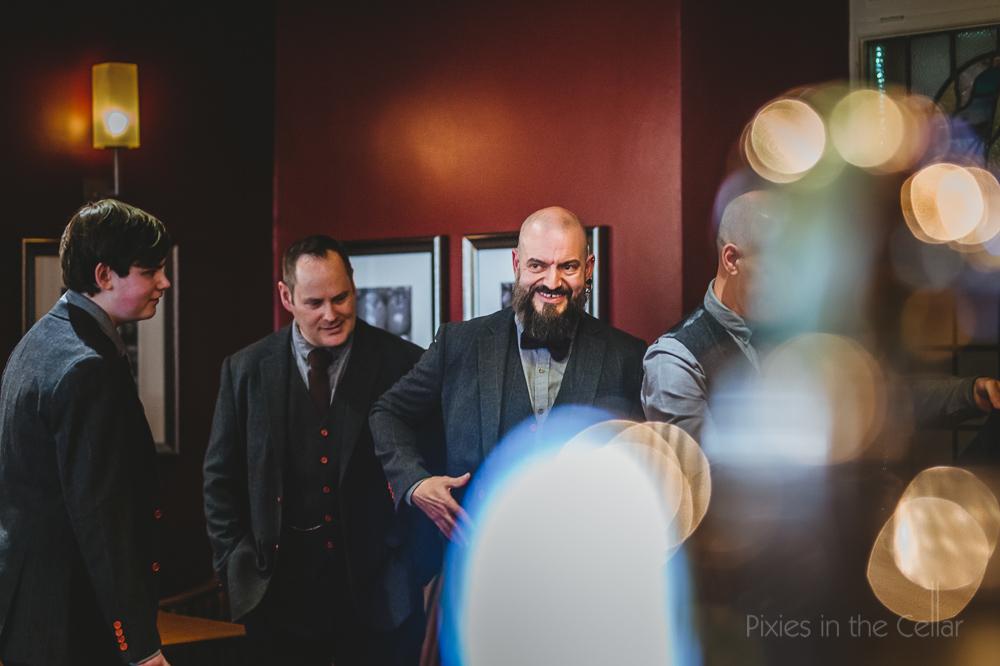 alternative wedding at the bar northumberland