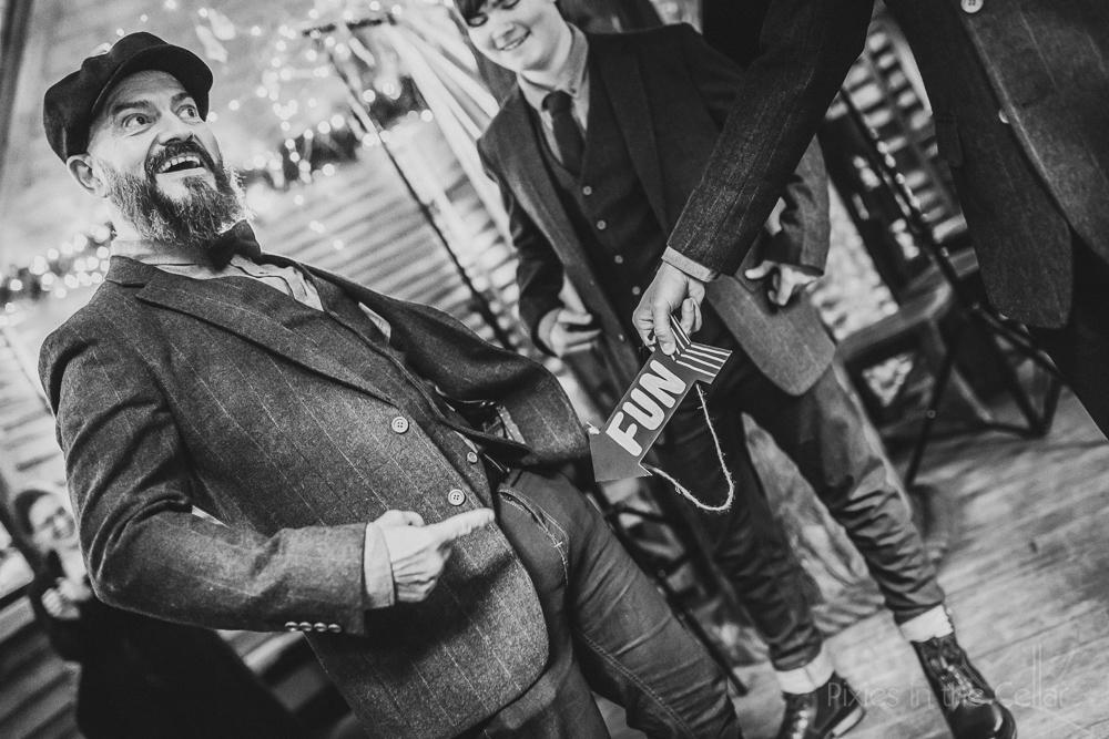groomsmen wedding fun