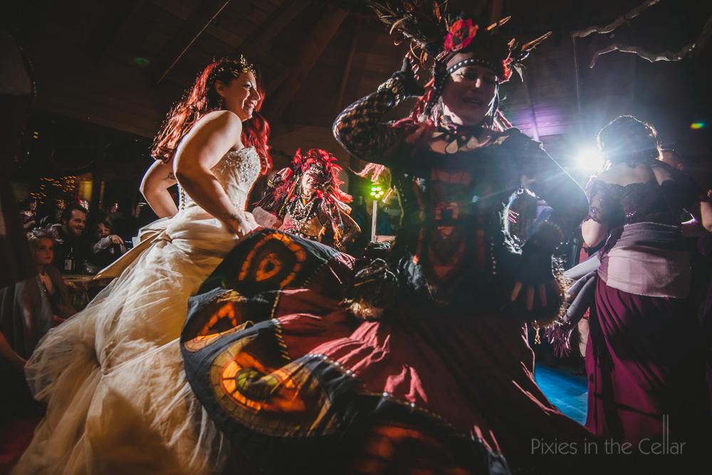 urban gypsies belly dancers at wedding