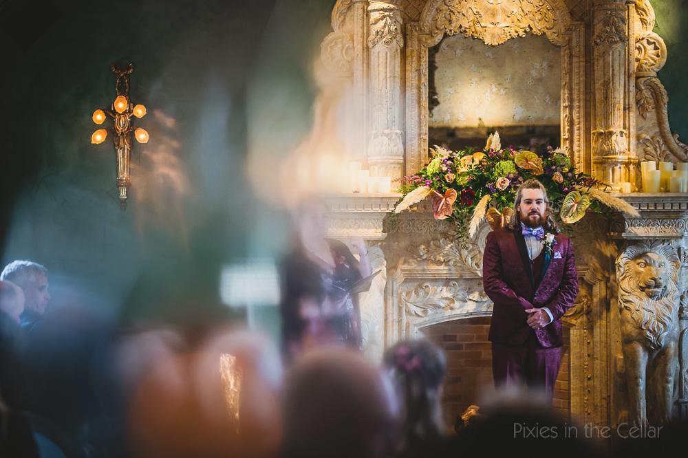 Le Petit Chateau wedding photography chapel ceremony