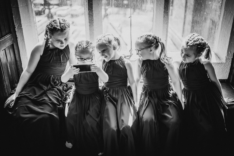 flowergirls and ipad