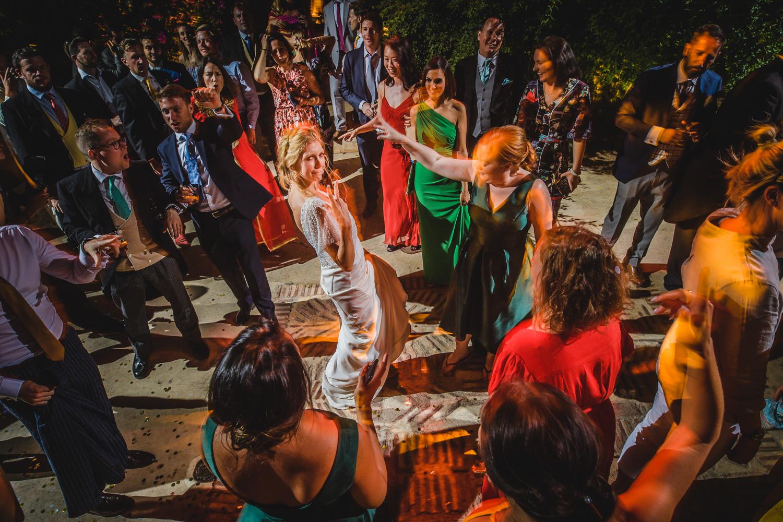 Outdoor first dance wedding marrakesh