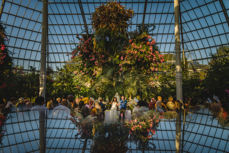 Palm House wedding SEfton park
