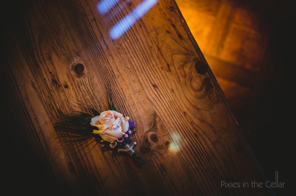 Le Petit Chateau wedding photography button hole