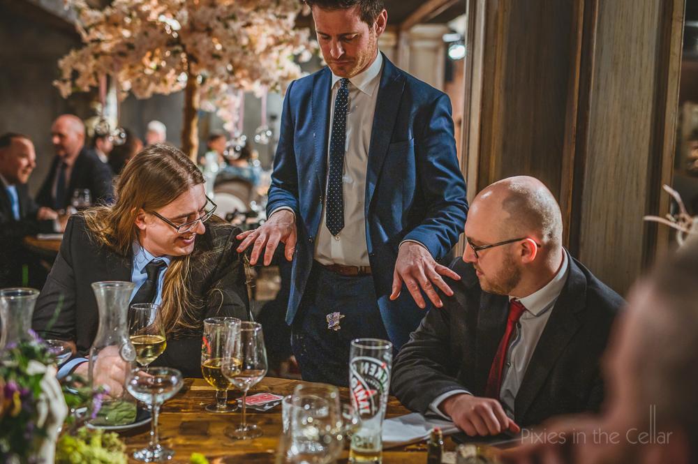 wedding magician northumberland
