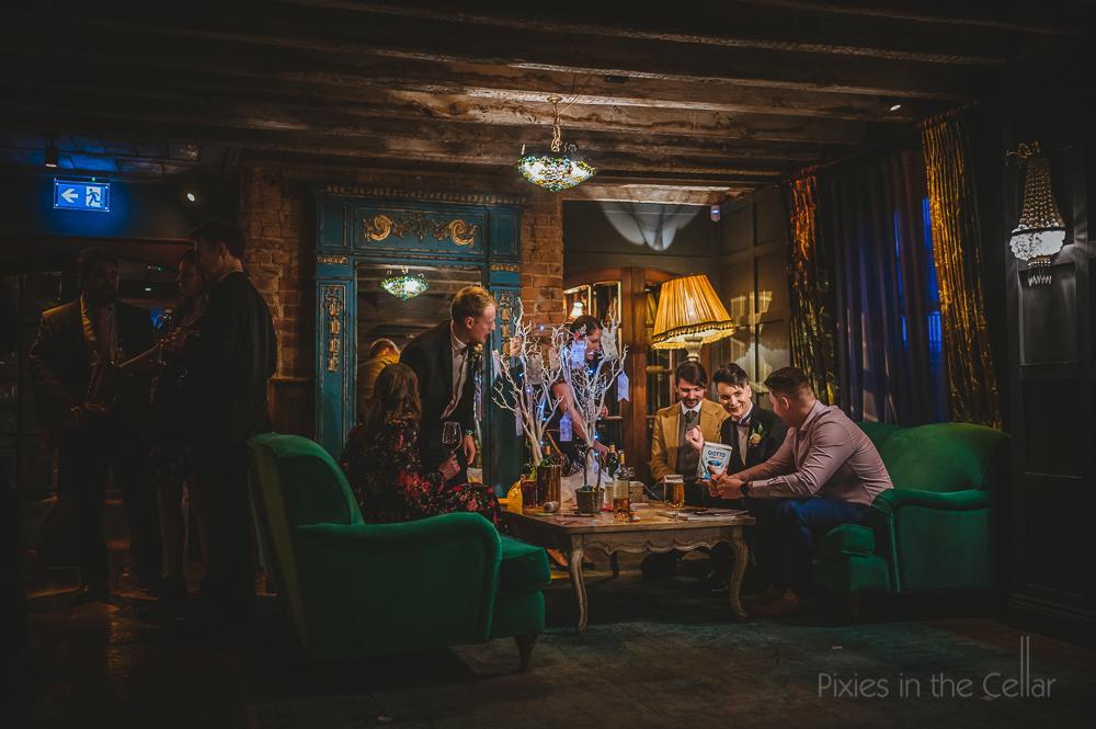Le petit chateau wedding photography evening reception