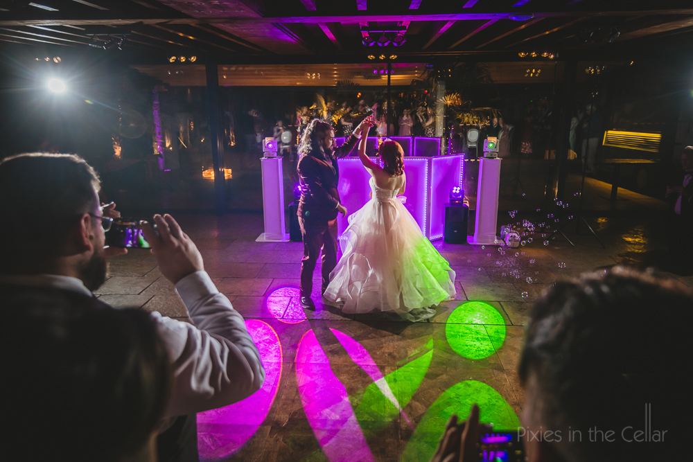 Le petit chateau wedding photography first dance