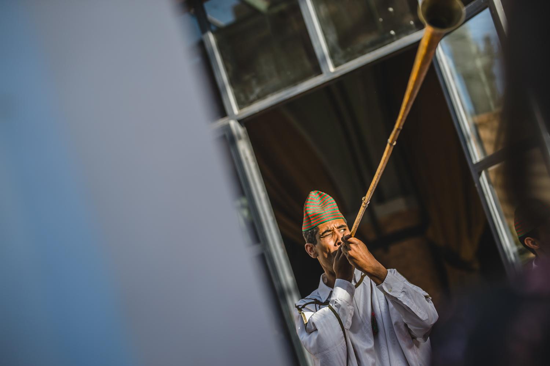 Moroccan wedding musician