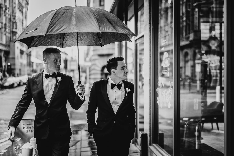 black tie wedding city