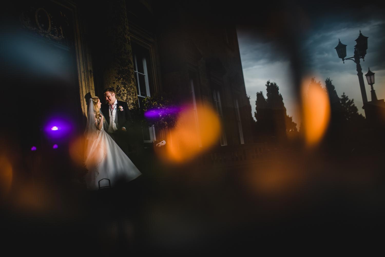 English country house wedding photo