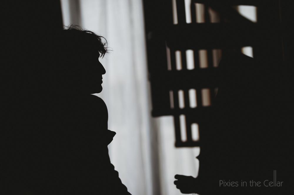 groom prep silhouette
