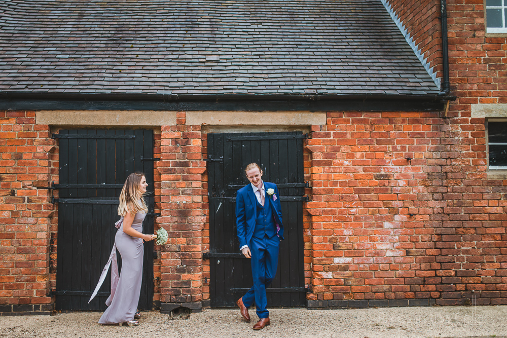 real moments not posed barn wedding Staffordshire