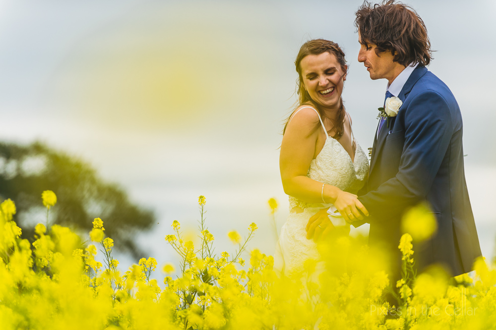 natural wedding portraits couple photos yellow Hanbury