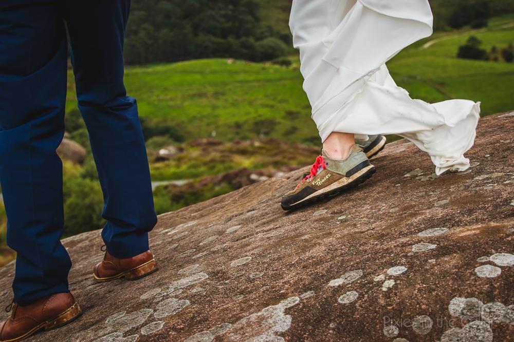 climbers wedding UK