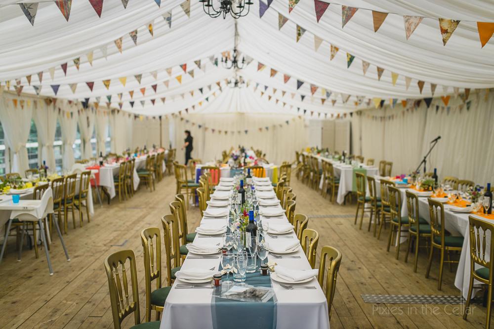 Peak District Wedding Marquee