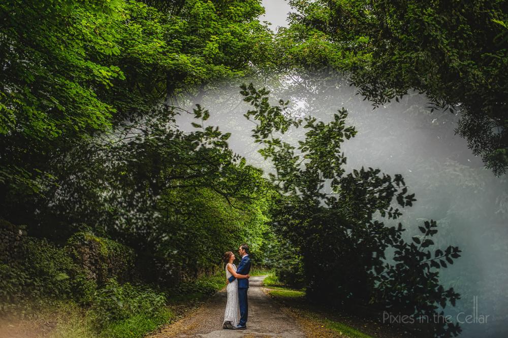 natural couple photos Peak District wedding