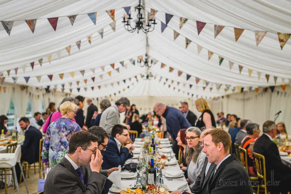 long trestle table wedding layout marquee design