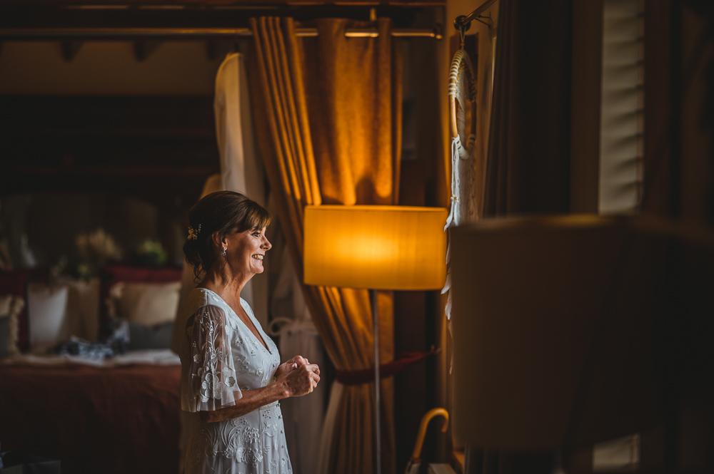 older bride Cheshire wedding