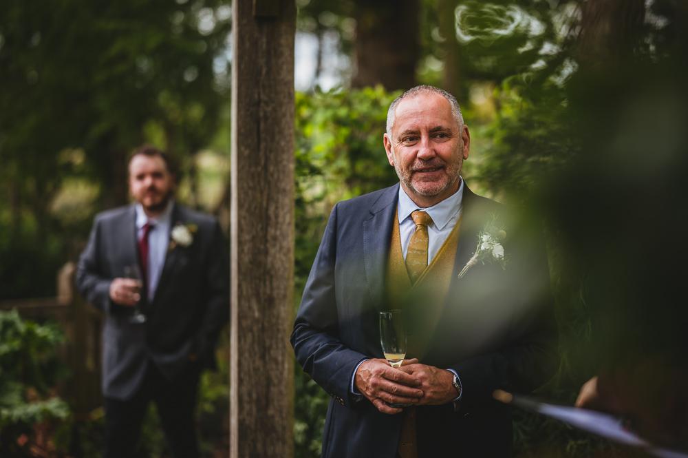 documentary wedding photography groom