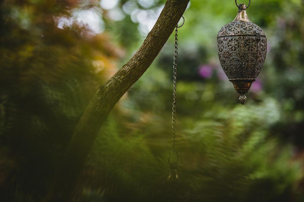 intimate woodland wedding venue decor